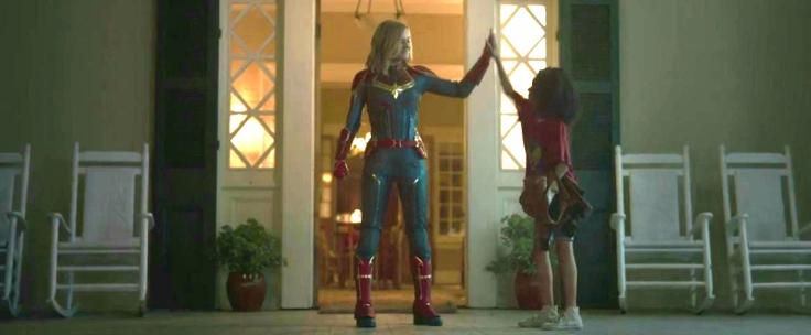 Monica e Carol || Capitã Marvel