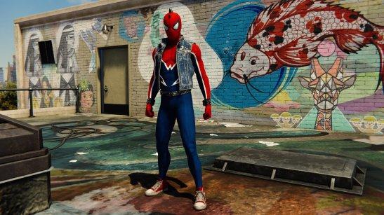 Spider Punk Suit