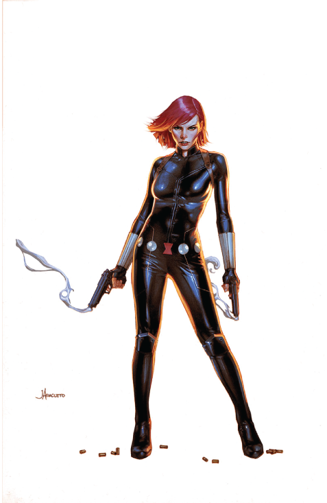 suit black widow comics