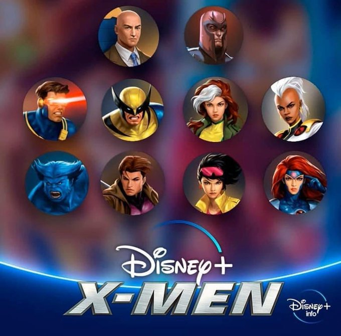 X-men disney plus